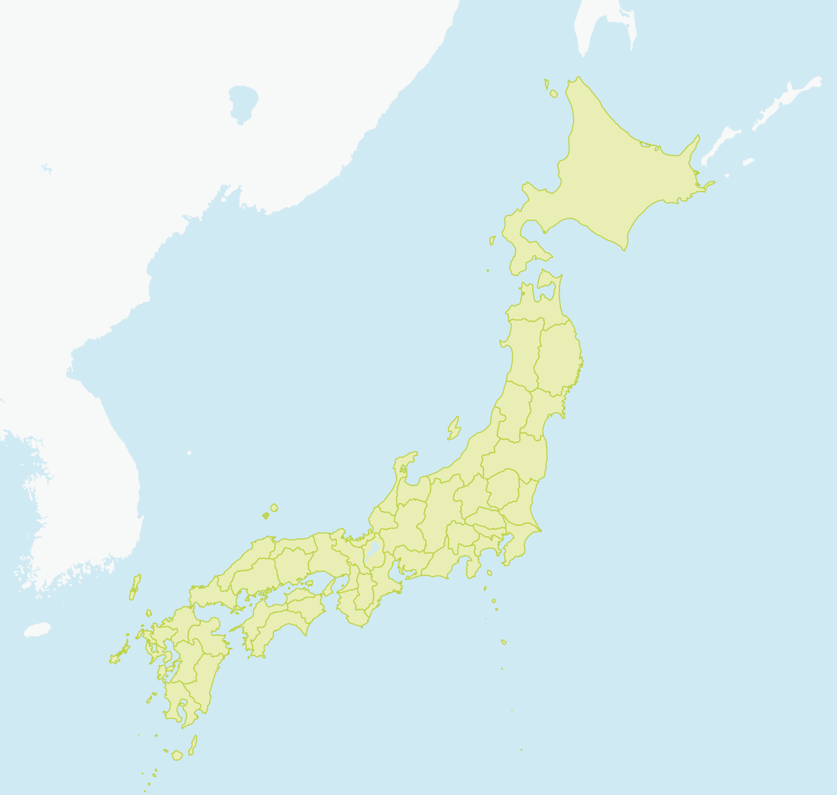 Tours - Japan map gifu