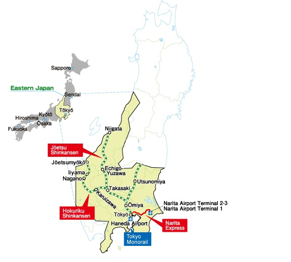 Japan Rail Pass Visitor Rail Passes Japan Rail Tickets Travel - Japan map rail
