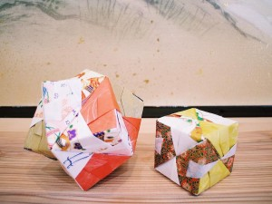 Japanese Origami Workshop in Kyoto