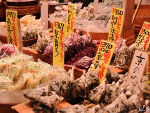 Experience Tea Ceremony and Walking at Nishiki Market.
